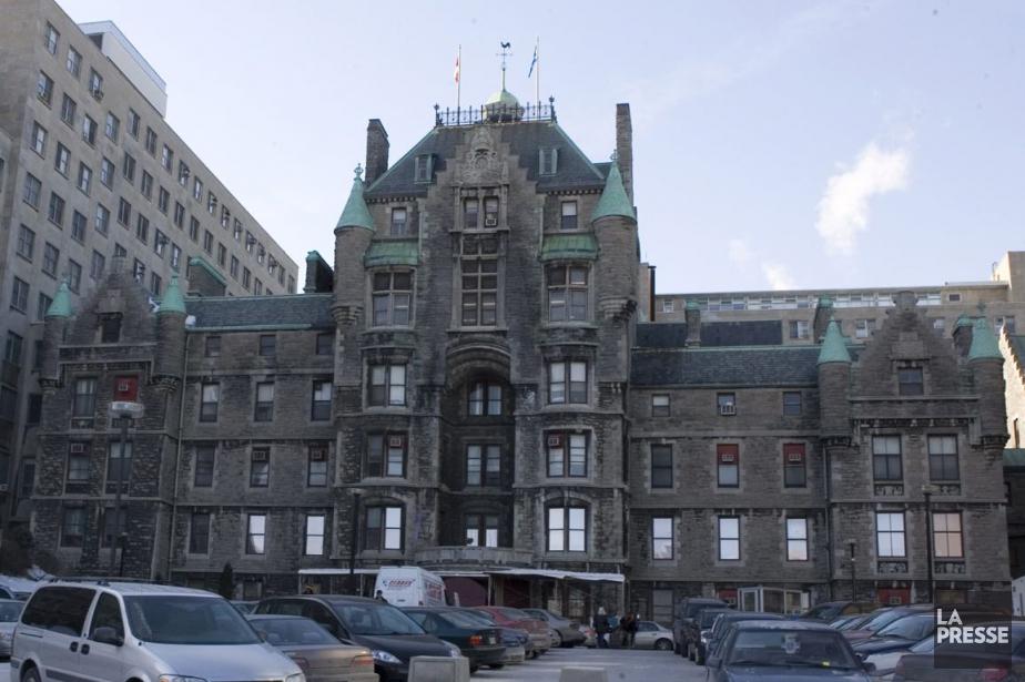 Le vieil hôpitalRoyal Victoria.... (Archives, La Presse)