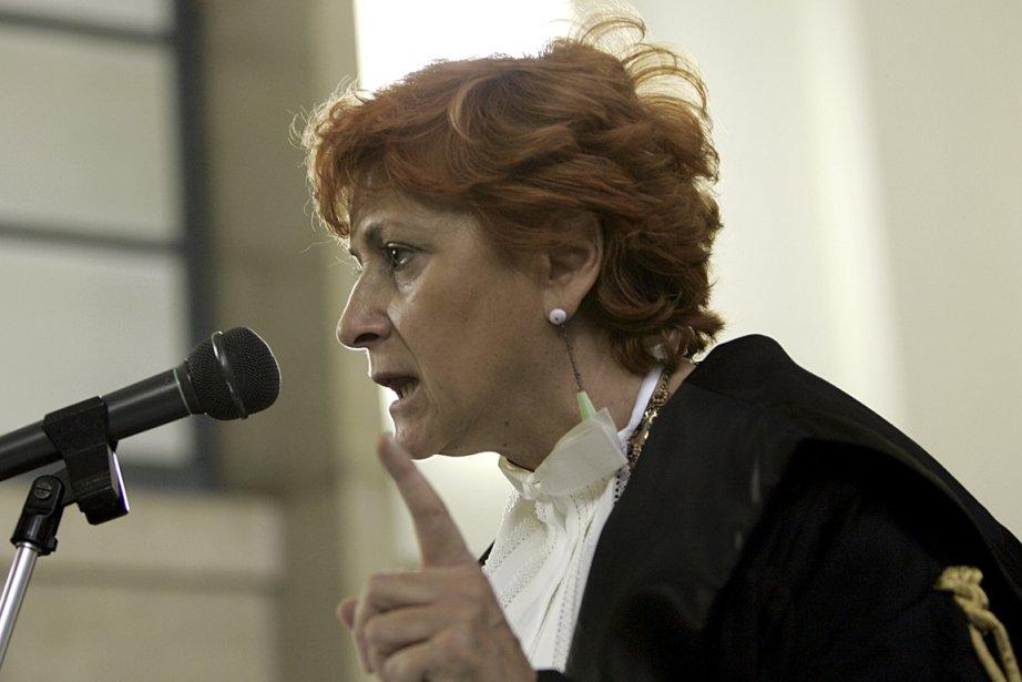 Les menaces de mort n'arrêtent pas la procureureIlda... (Photo Antonio Calanni, AP)
