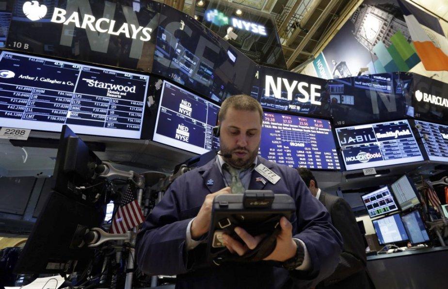 Les indices de Wall Street, qui avaient déjà... (Photo Associated Press)