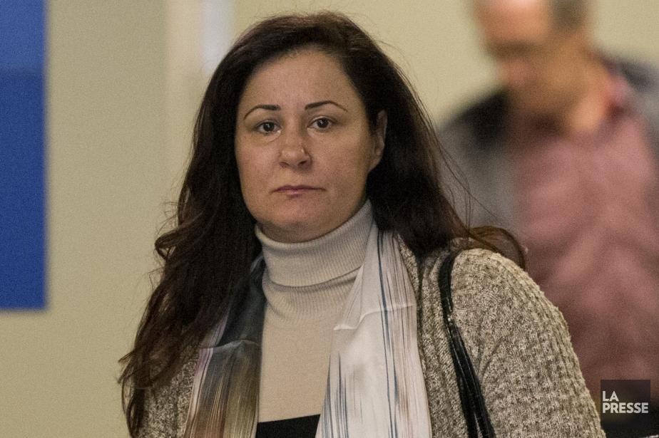 Adèle Sorella est accusée des meurtres prémédités de... (PHOTO DAVID BOILY, LA PRESSE)