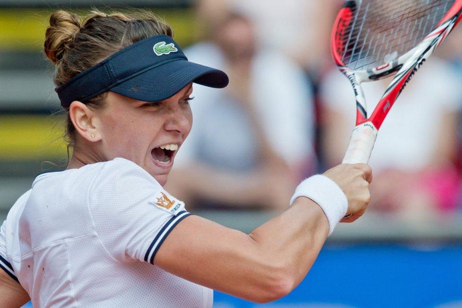 Simona Halep a dominé Carla Suarez Navarro, 6-2,... (Photo : Daniel Karmann, archives AP)