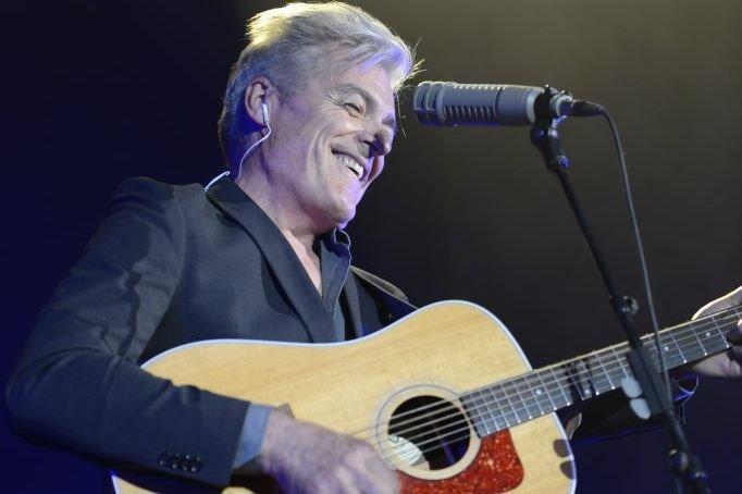 Daniel Lavoie a chanté ses grands succès, dont... (Photo: Charles Laberge, collaboration spéciale)
