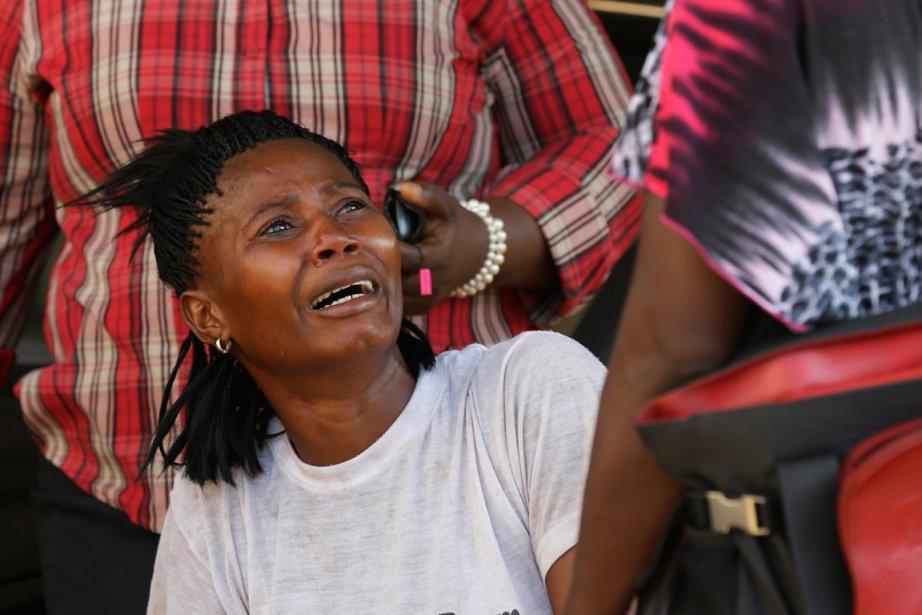 Fatmata, 26 ans, raconte comment elle a été... (PHOTO REBECCA BLACKWELL, AP)