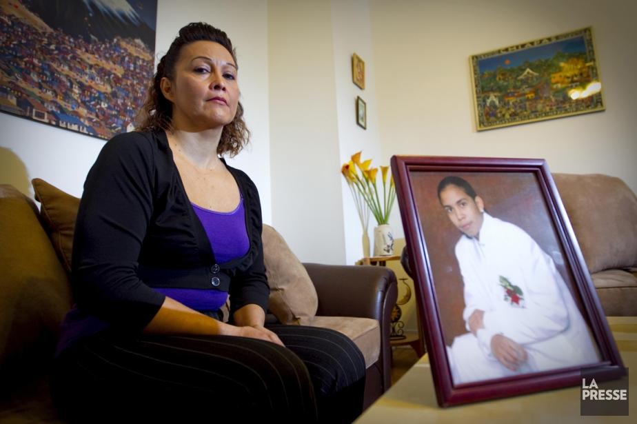 Lilian Villanueva, la mère de Fredy.... (Photo Alain Roberge, archives La Presse)