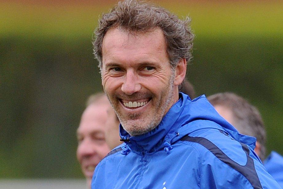 Laurent Blanc était sans activité depuis son départ... (Photo : Franck Fife, archives AFP)