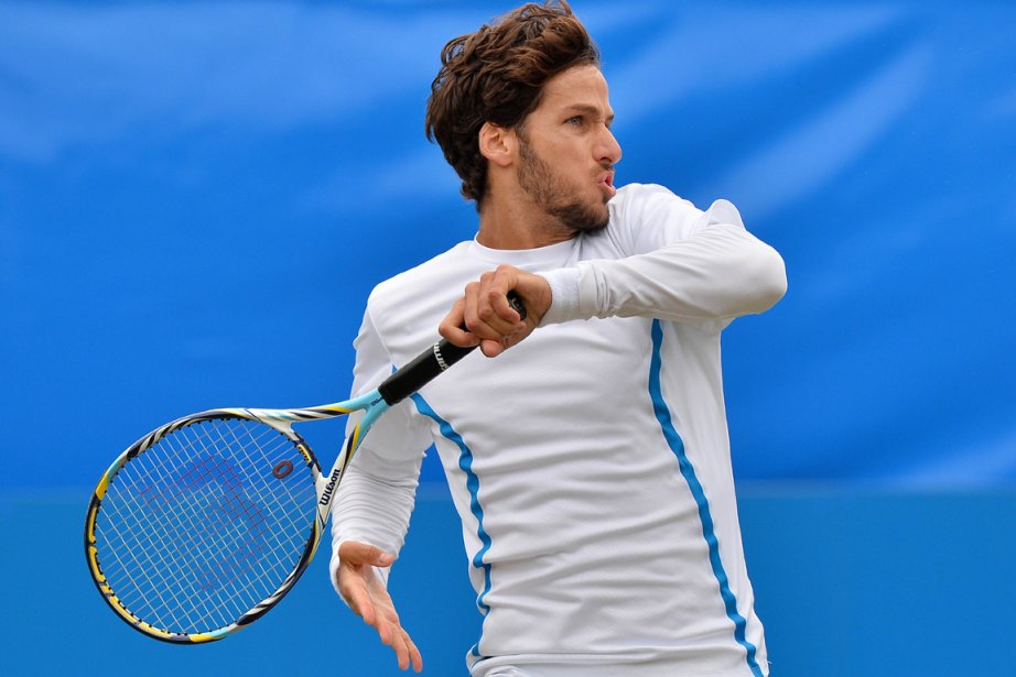 Feliciano Lopez... (Photo : Ben Stansall, archives AFP)