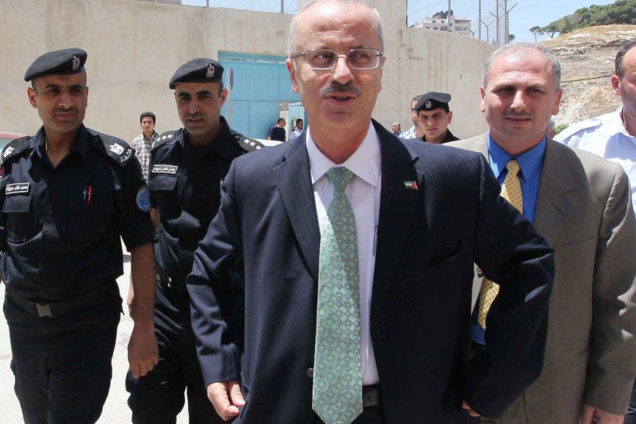 Le premier ministre de l'Autorité... (PHOTO JAAFAR ASHTIYEH, ARCHIVES AFP)