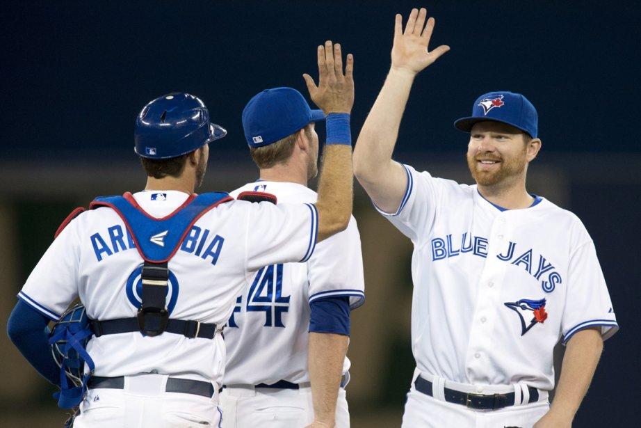 Les Blue Jays viennent de récolter huit victoires... (Photo : Frank Gunn, PC)
