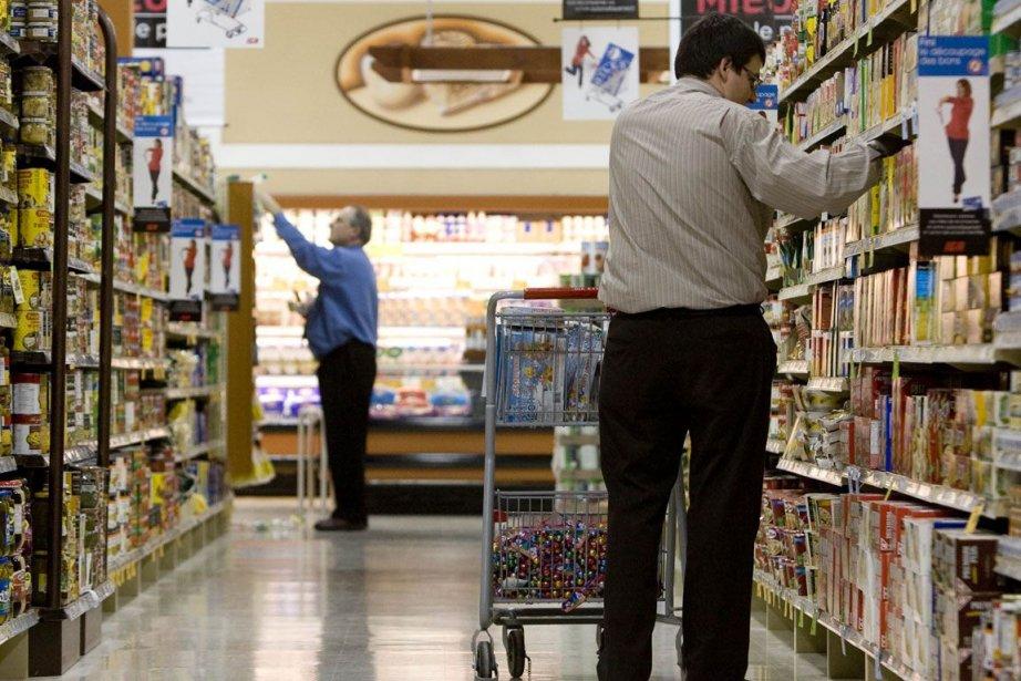 Les coûts des aliments ont contribué à la... (Photo Martin Tremblay, La Presse)