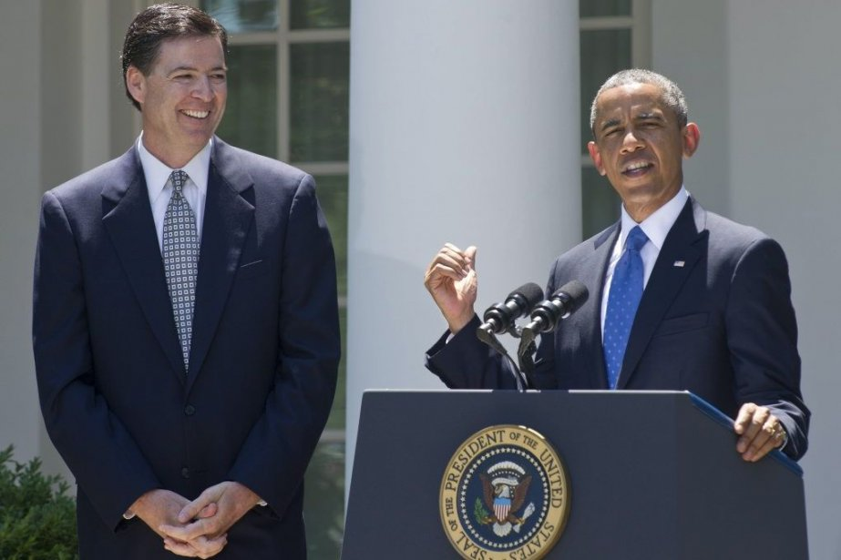 Barack Obama (à droite) a nommé vendredi Jim... (PHOTO NICHOLAS KAMM, AFP)