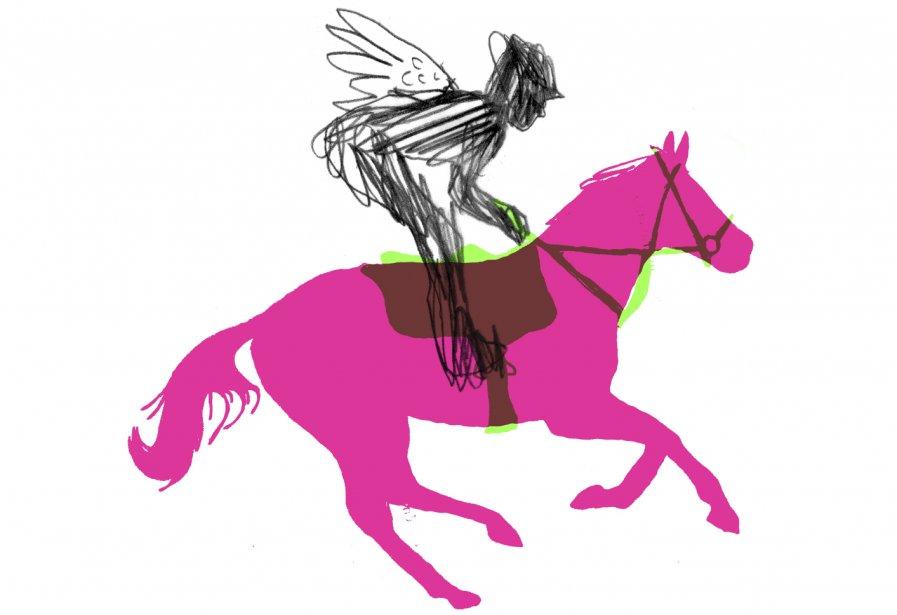 En naviguant sur le web, Éliane... (Illustration Francis Léveillée, La Presse)