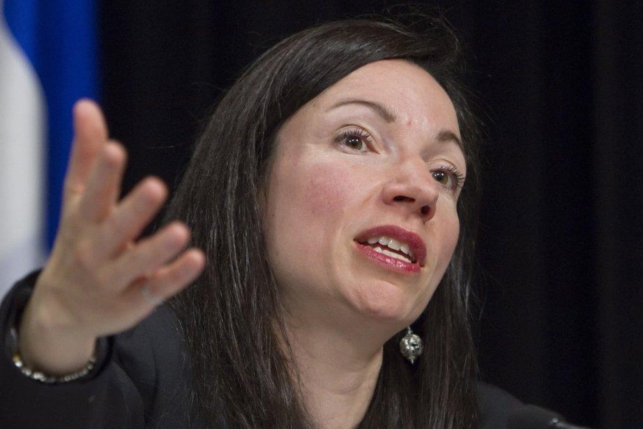 La ministre des Ressources naturelles, Martine Ouellet, avait... (Photo Clément Allard, La Presse Canadienne)