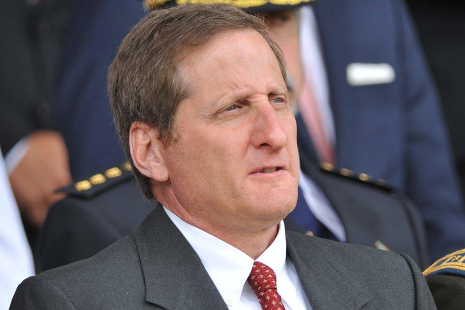 Jay Bergman, directeur régional de l'agence antidrogue américaine... (Photo Guillermo Legaria, AFP)