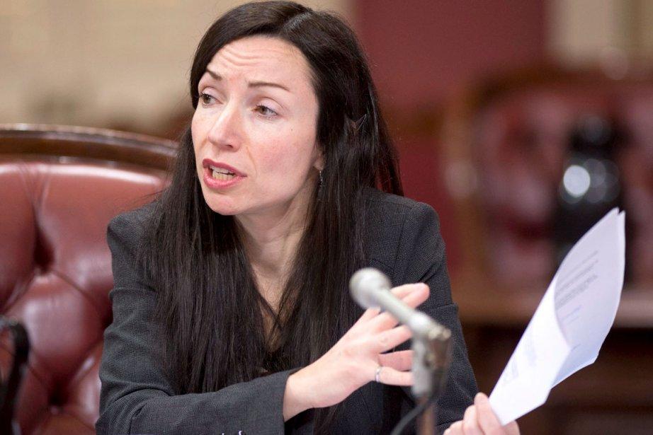 La ministre des Ressources naturelles,Martine Ouellet.... (La Presse Canadienne)