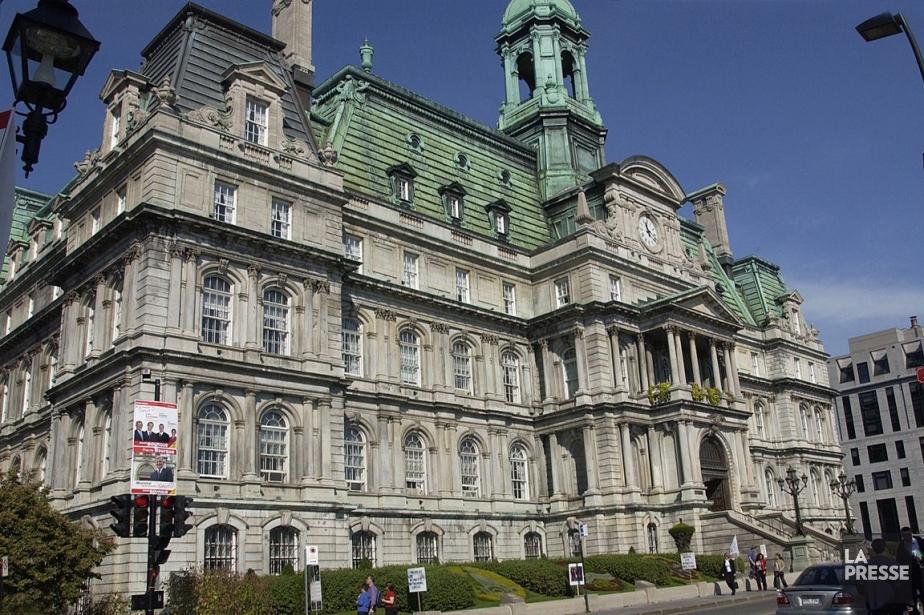 L'hôtel de ville de Montréal.... (PHOTO ARCHIVES LA PRESSE)