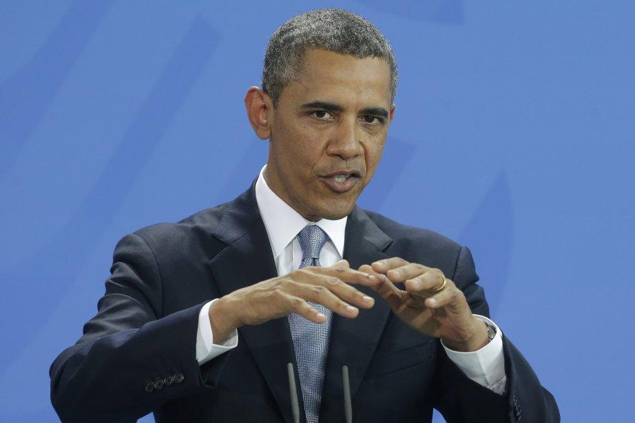 Le président américain Barack Obama a... (Photo Pablo Martinez Monsivais, AP)