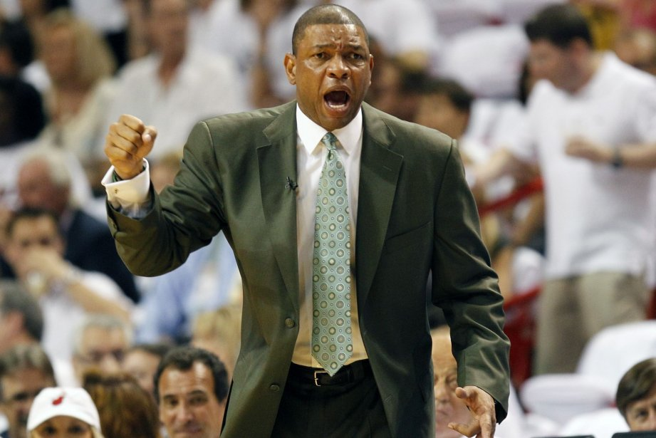 Doc Rivers... (Photo J Pat Carter, AP)