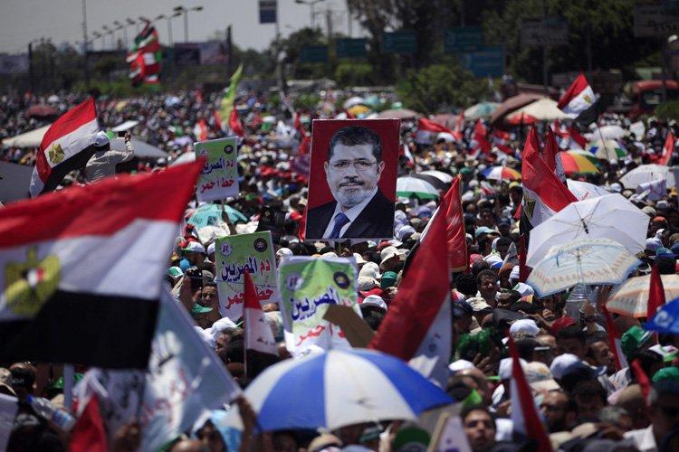 Des dizaines de milliers de partisans de Mohammed... (Photo: AP)