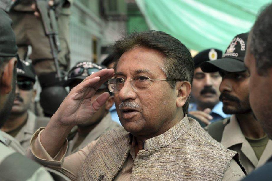 La justice reproche notamment à Pervez Musharrafd'avoir violé... (PHOTO AAMIR QURESHI, AFP)