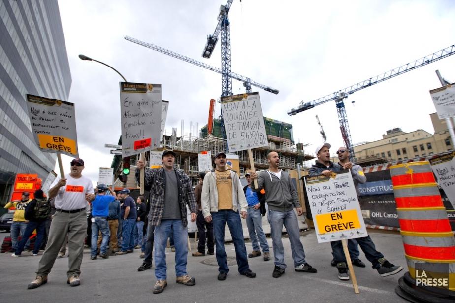 Centralisé, bureaucratique, étouffant, notre régime de construction incarne... (PHOTO DAVID BOILY, LA PRESSE)