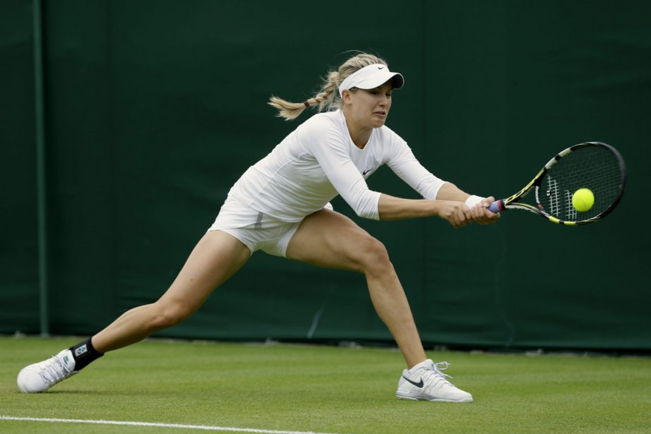 Opposée à la 88e joueuse mondiale, Eugenie Bouchard,... (Photo : Alastair Grant, AP)