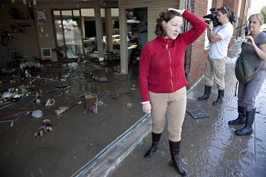 La première ministre de l'Alberta, Alison Redford.... (PHOTO Jordan Verlage, PC)