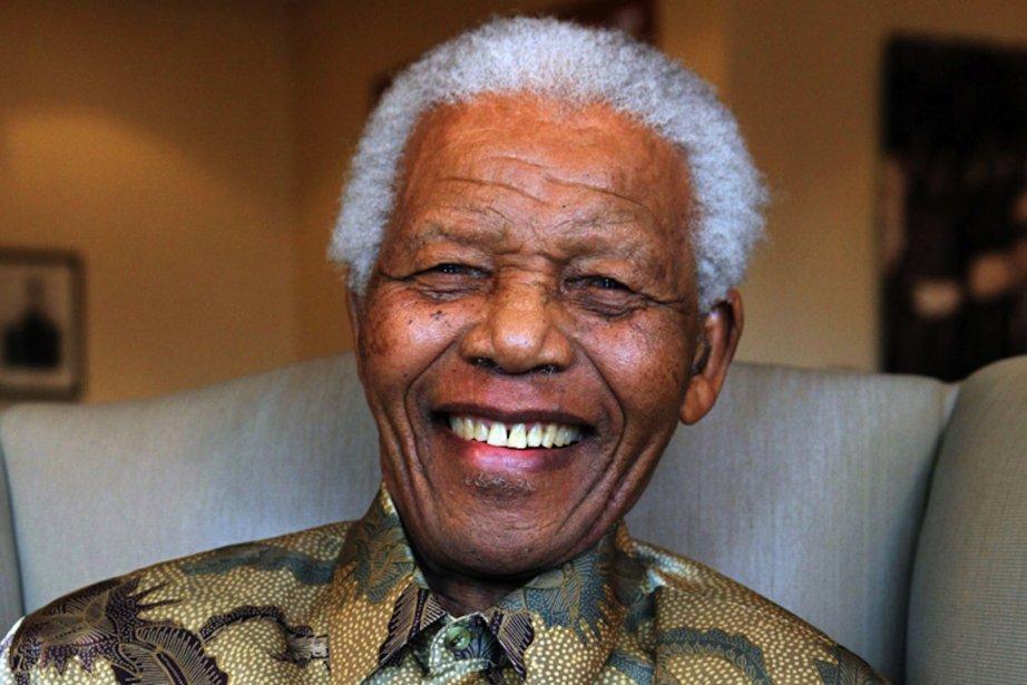 Nelson Mandela...
