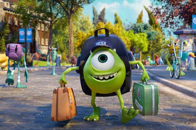 Monsters University, le dernier film des studios Pixar, qui... (Disney)