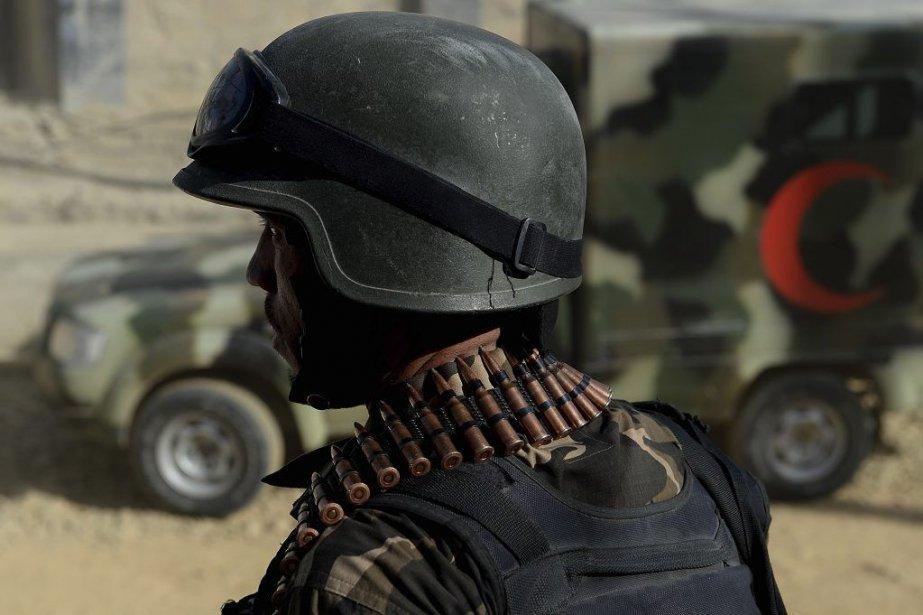 Cette attaque dans une zone ultra-sécurisée de la... (Photo AFP)