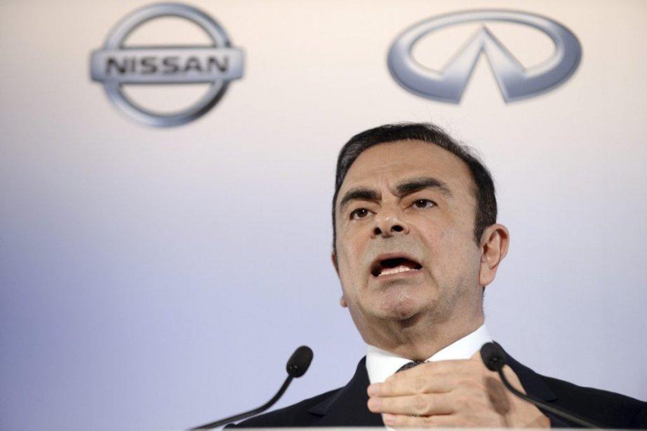 Le PDG de Nissan, Carlos Ghosn.... (Photo AFP)