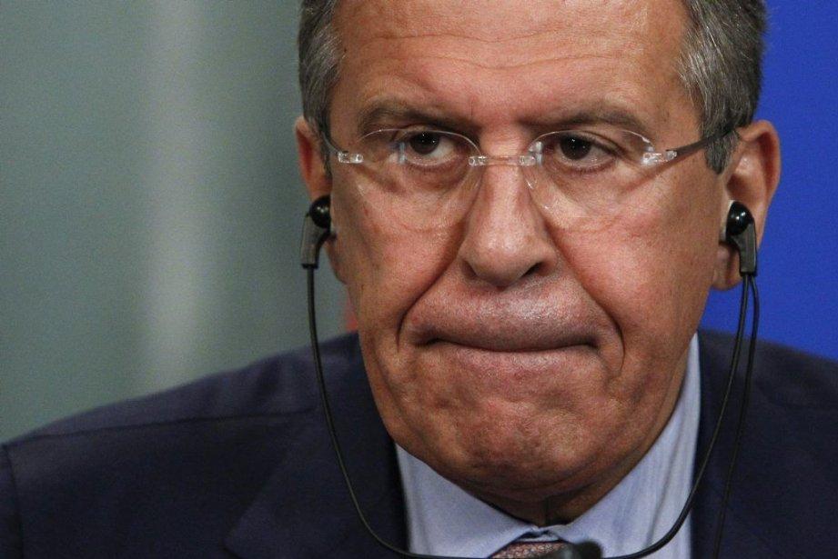 Sergueï Lavrov... (Photo Reuters)