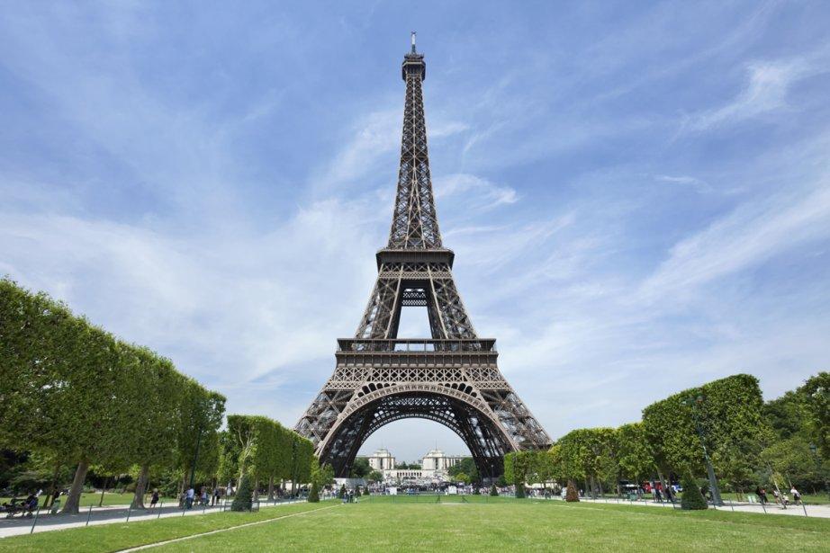 La Tour Eiffel, à Paris... (PHOTOTHÈQUE LA PRESSE)