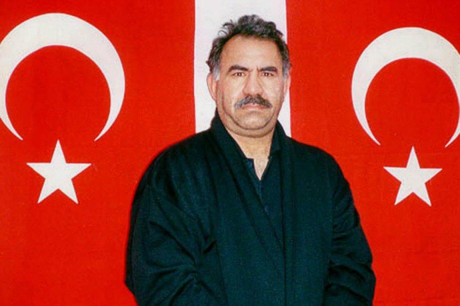 Le chef emprisonné des rebelles kurdes de Turquie,... (PHOTO AP ARCHIVES)