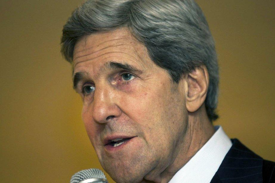 Le secrétaire d'État américain, John Kerry.... (PHOTO JACQUELYN MARTIN, REUTERS)