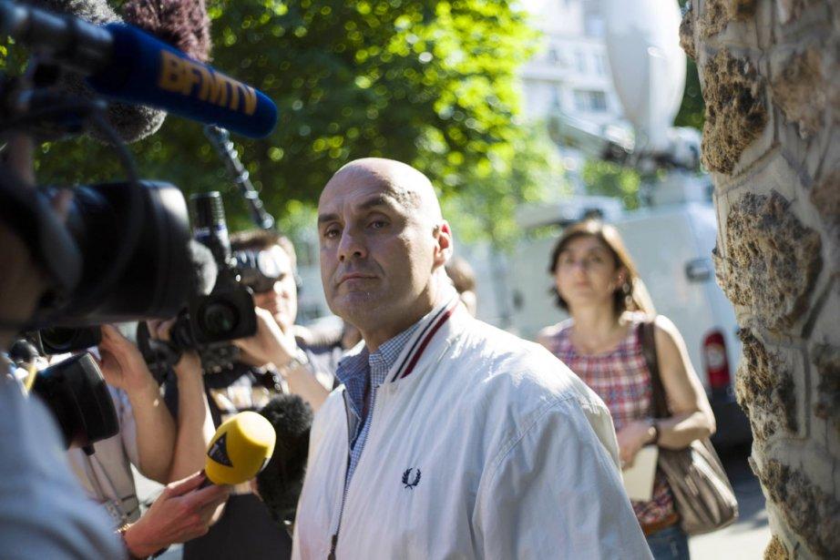 Le chef de l'organisation d'extrême droite Troisième Voie,... (PHOTO FRED DUFOUR, AFP)