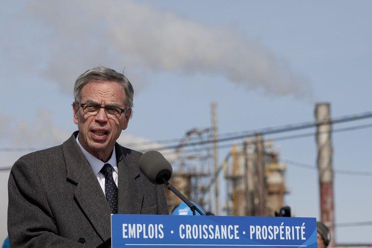 Le ministère canadien des Ressources naturelles a versé... (Photo: David Boily, La Presse)