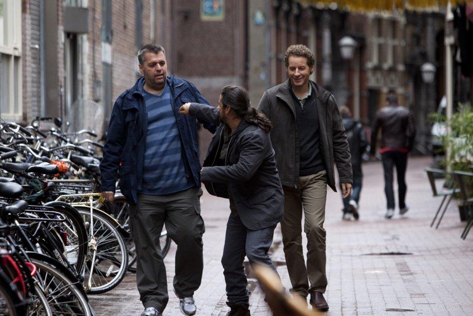 Dans Amsterdam, Louis Champagne, Robin Aubert et Gabriel... (Photo: fournie par Attraction Images)