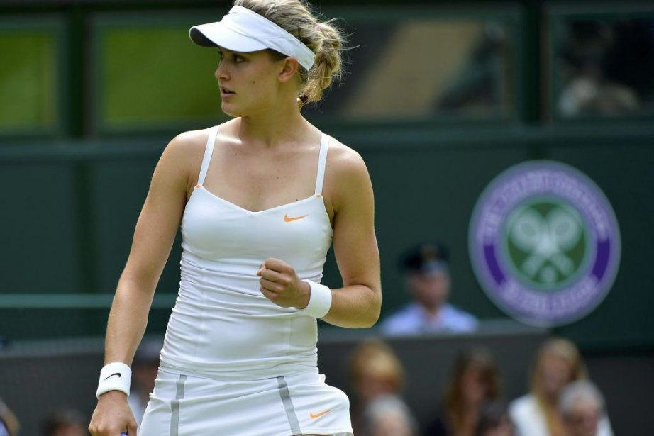 Eugenie Bouchard... (Photo Toby Melville, Reuters)