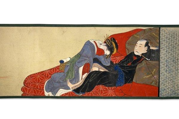 Ten scenes of lovemaking de Katsukawa Shun'ei... (Photo: fournie par le British Museum)