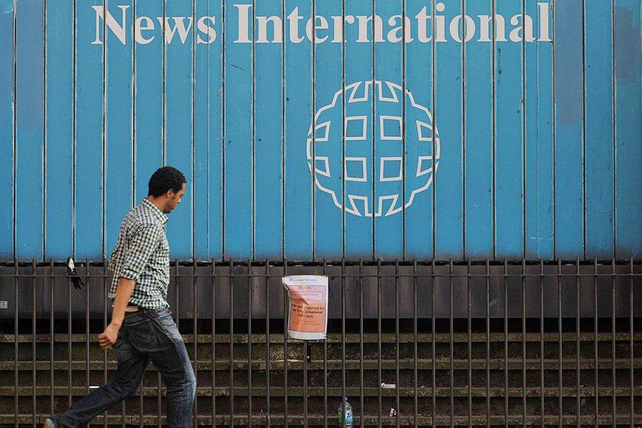la nouvelle identité de News International, qui s'accompagne... (PHOTO BEN STANSALL, ARCHIVES AFP)