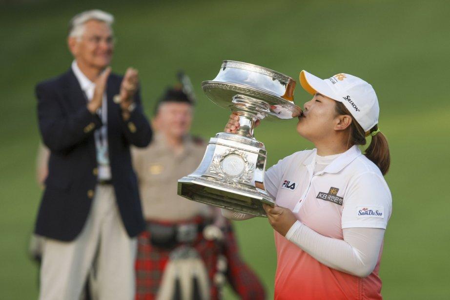 La Sud-Coréenne Inbee Park a gagné les deux... (Photo Adam Fenster, Reuters)