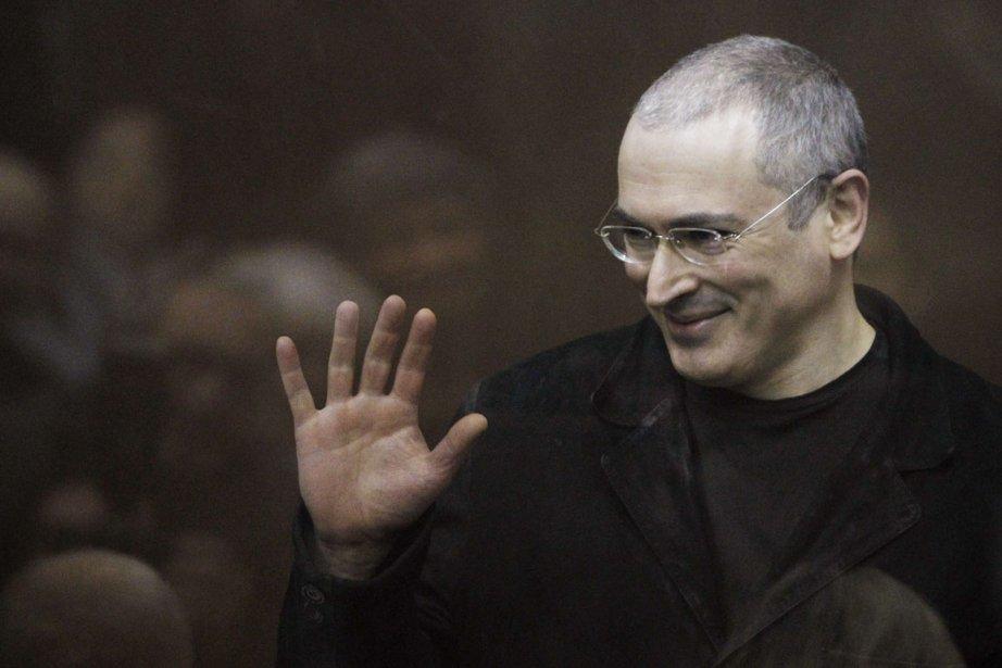 L'ex-milliardaire russe Mikhaïl Khodorkovski.... (PHOTO DENIS SINYAKOV, ARCHIVES REUTERS)