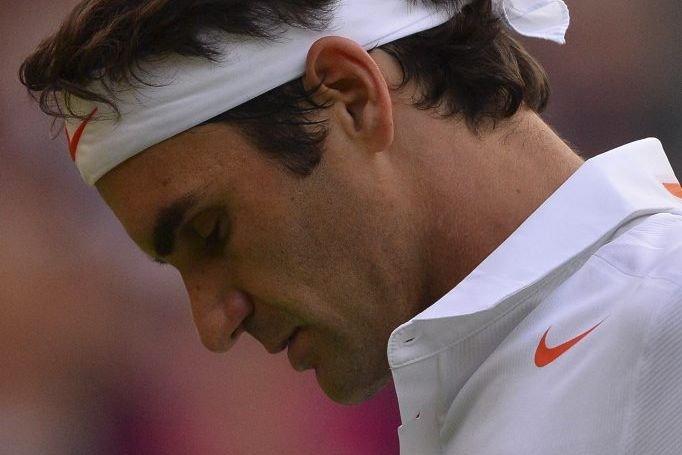 Roger Federer... (Photo Carl Court, Agence France-Presse)