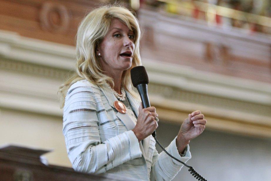 Wendy Davis, la sénatrice démocrate de l'État du... (Photo Erich Schlegel, The New York Times)