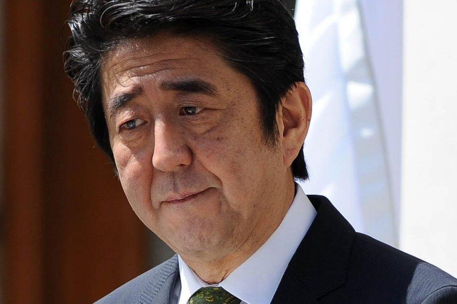 En avril dernier, le premier ministre japonais Shinzo... (PHOTO ARTUR WIDAK, AFP)