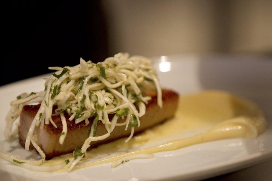 Réputé pour sa charcuterie maison, Le Comptoir propose des assiettes brunch à son image : musclées. (PHOTO OLIVIER JEAN, LA PRESSE)