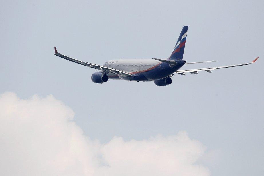 Un avion de la compagnie Aeroflot avec laquelle... (PHOTO SERGEI KARPUKHIN, REUTERS)
