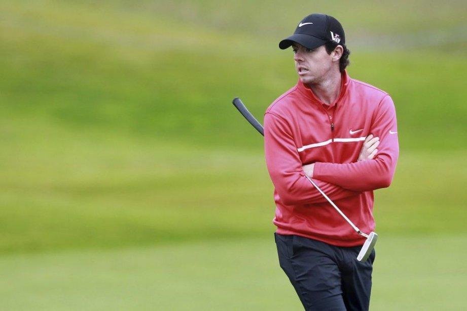Rory McIlroy... (Photo Peter Muhly, Agence France-Presse)