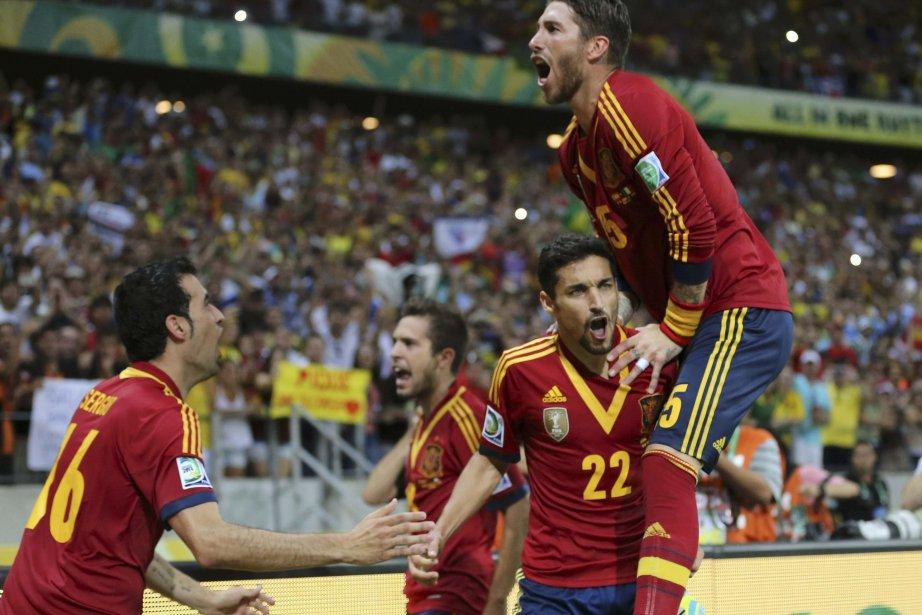 L'Espagne, double championne d'Europe et championne du monde,... (Photo Jorge Silva, Reuters)