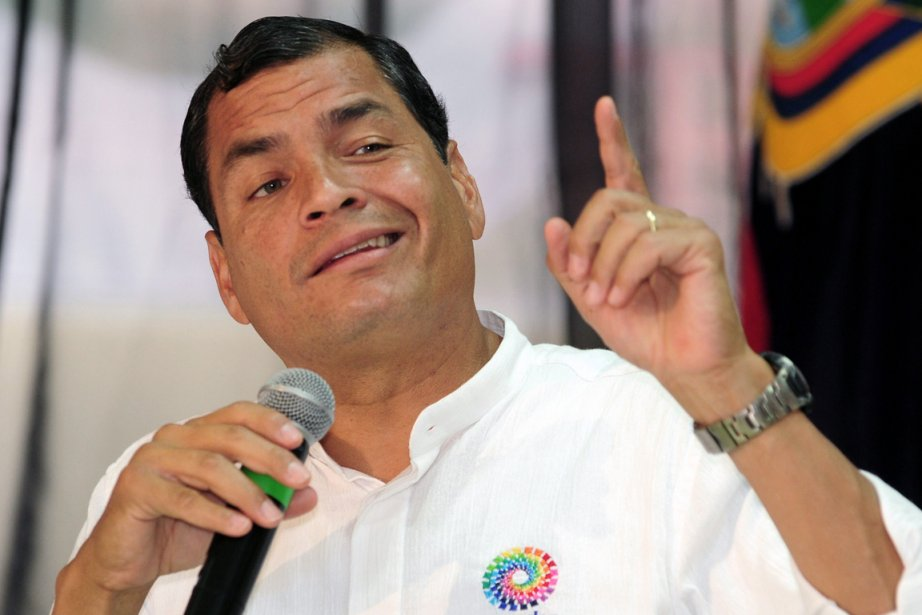Le président d'Équateur, Rafael Correa, a confirmé qu'il... (PHOTO RODRIGO BUENDIA, AFP)